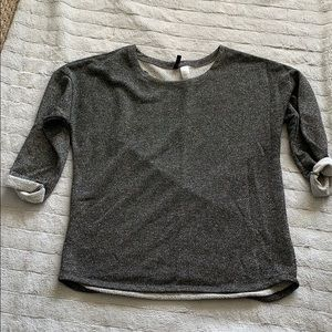 H&M sparkly casual sweater